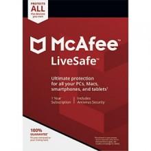 Antivirus Mcafee Livesafe 2019 Código de Licencia