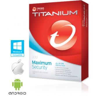 Trend Micro Titanium para Mac (1 usuario 1 año)